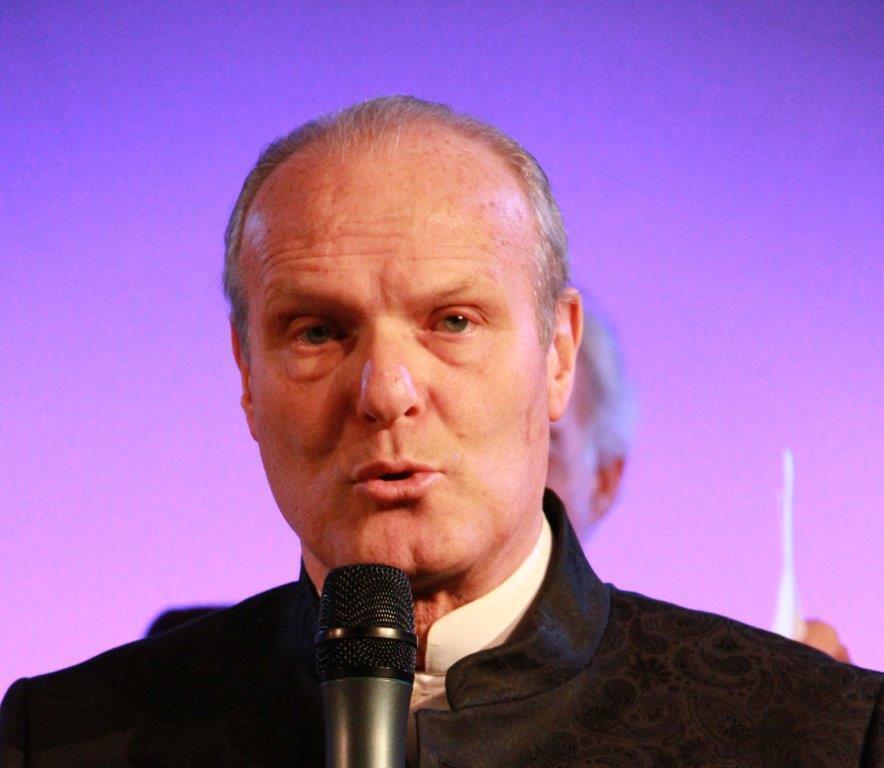 Le Pr Israël Nisand, président du Forum de bioéthique de Strasbourg et président de cette 3e édition de eHealthworld Monaco.