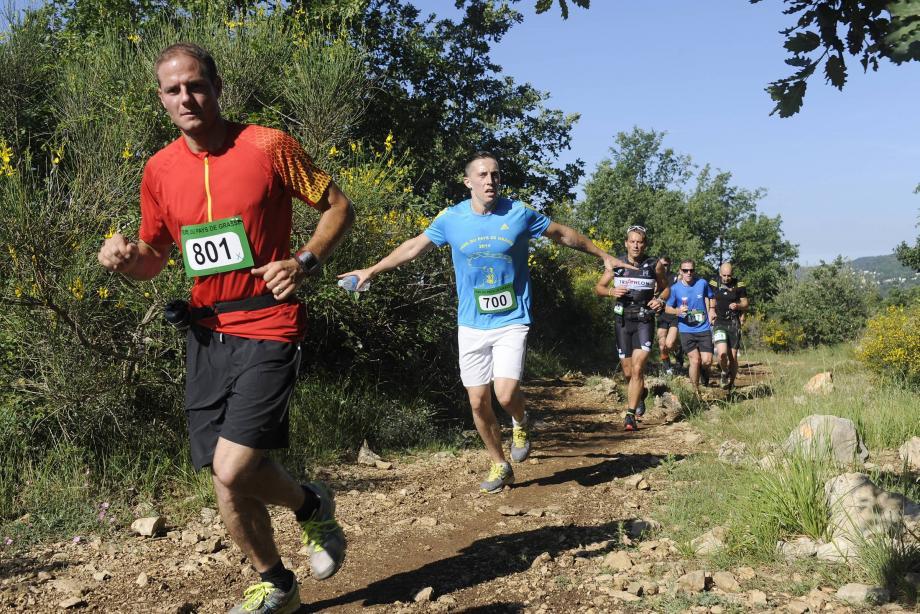 Les coureurs du Trail du Pays de Grasse vont se régaler dimanche matin.
