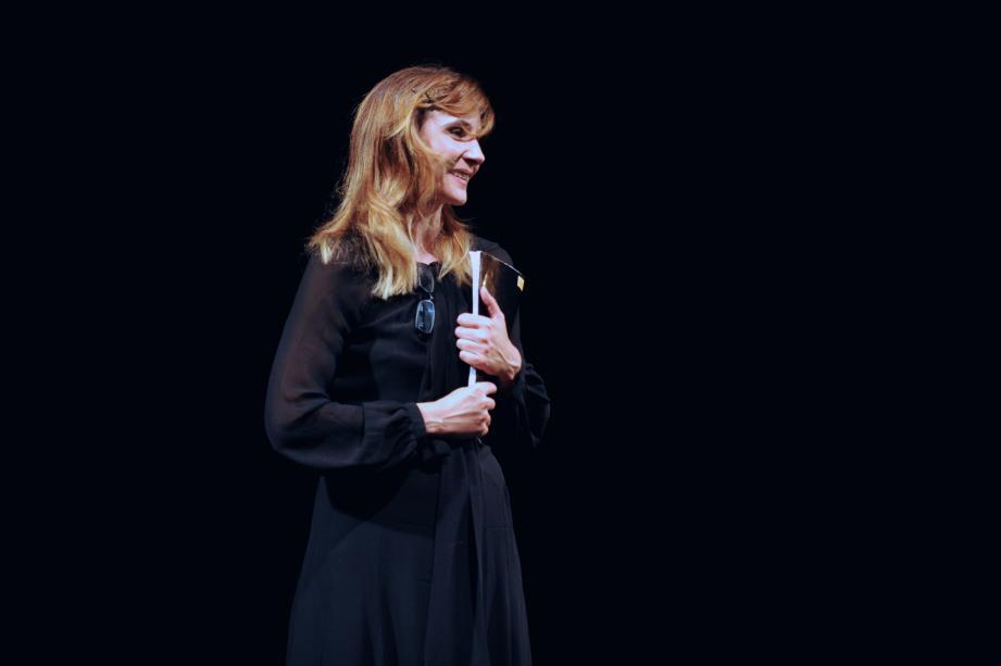 Clotilde Courau a offert un dernier spectacle d'avant l'été, au TDG.