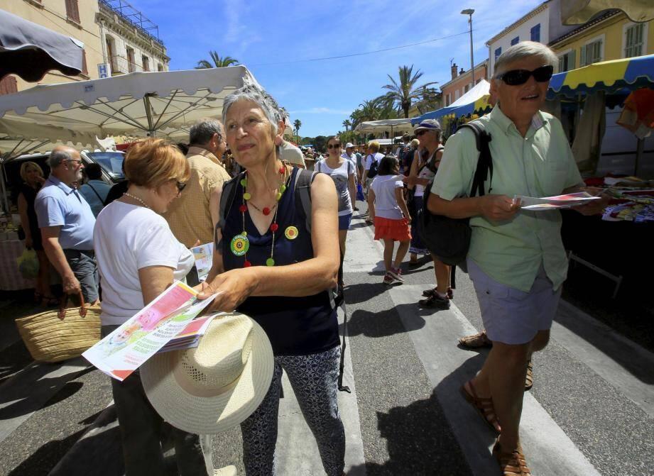 Chantal Mouttet et Jean-Claude Albérigo ont arpenté le marché du dimanche.
