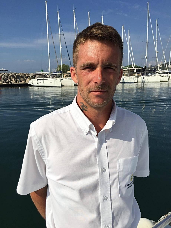Alex Joskowicz, maître du port Camille-Rayon et organisateur de la journée de l'environnement.