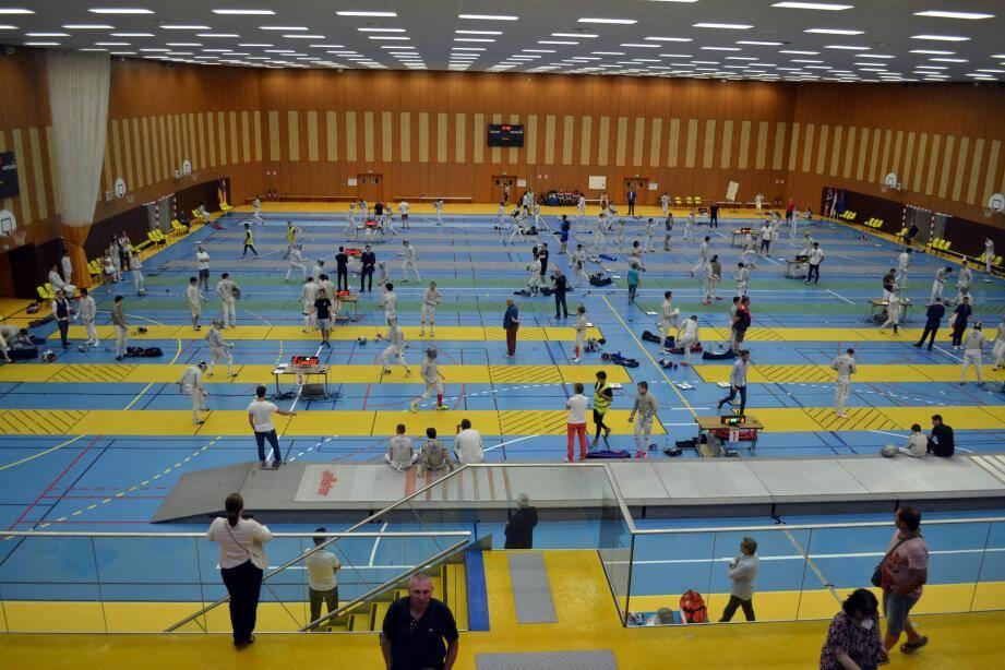 L'Espace Saint-Antoine avait été parfaitement aménagé pour pouvoir accueillir tous les athlètes. (DR)