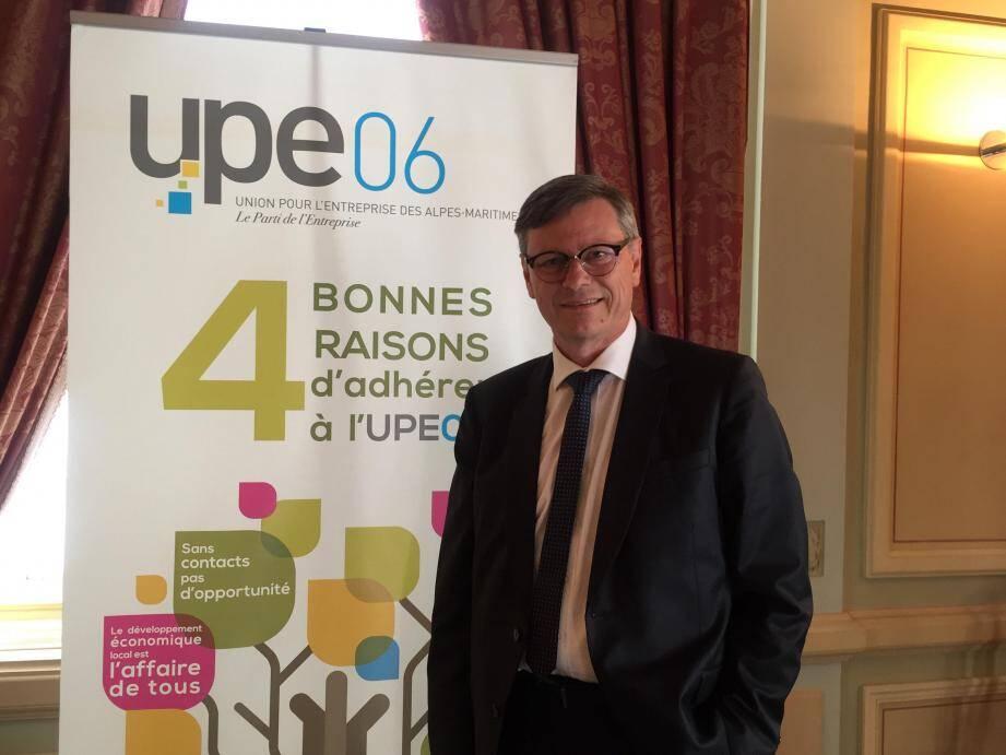 Philippe Renaudi satisfait de la synergie établie entre son organisation et la CCI Nice Côte d'Azur.