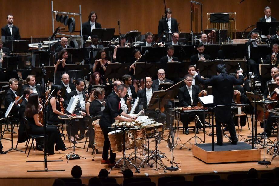 Concert fou de fin de saison, vendredi soir, en l'Auditorium Rainier-III.