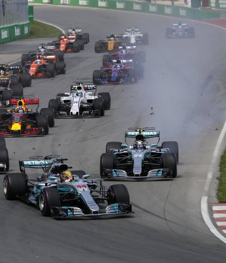 Lewis Hamilton, encore une fois imbattable à Montréal.