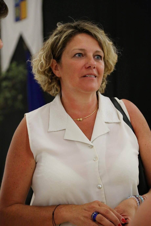 Valérie Gomez-Bassac compte « être la voix de la majorité pour la circonscription ». (Ph. H.D.S.)
