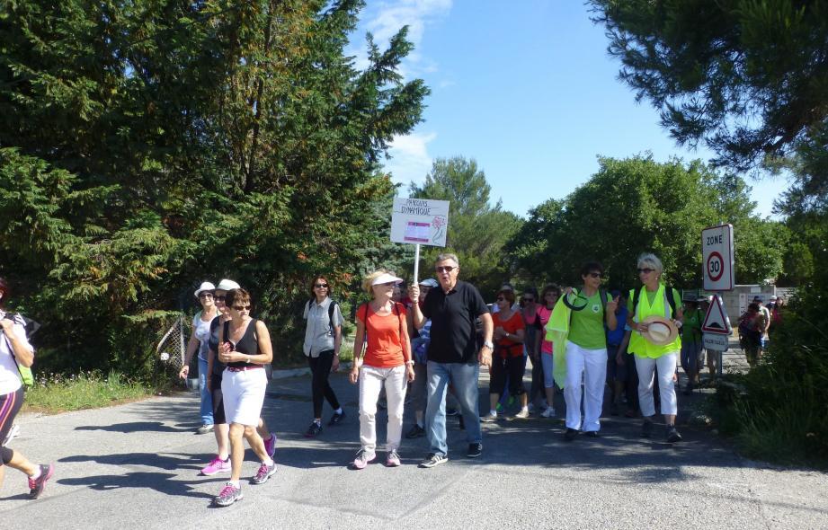L'an passé, la marche solidaire avait déjà mobilisé. (DR)