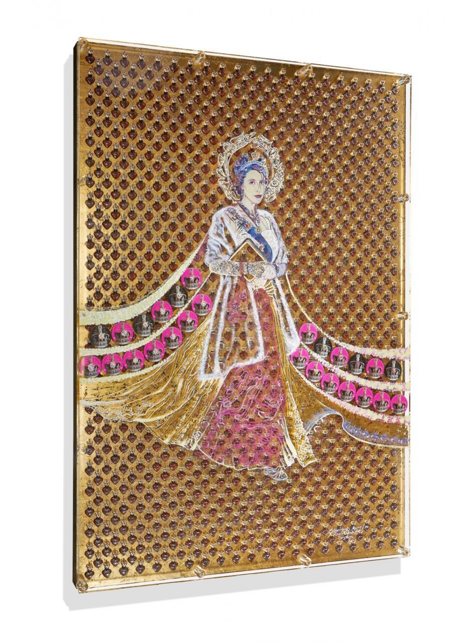 L'œuvre de Heiko Saxo est composée entre autre de 1 000 fioles de parfum.