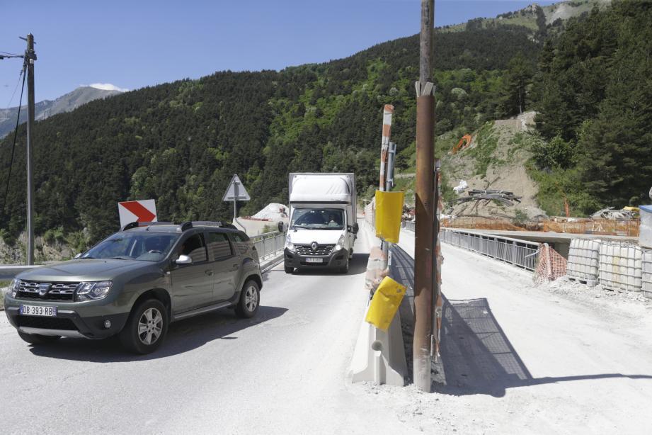 L'affaire judiciaire qui a stoppé le chantier affecte  la route voisine.