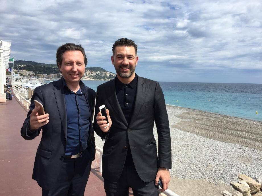 Laurent Merengone et Rudi Cohen présentent l'appli Lici.