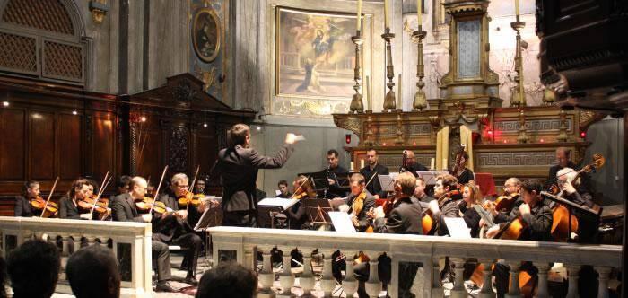 La «Symphonie pastorale» sera interprétée par l'orchestre Passion classique, en l'église anglicane.(DR)