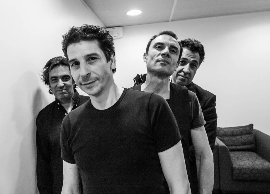 Les Hommes à Petit Budget : Eric Chabaud (batterie), Marc Piola Caselli (guitare), Stéphane Mirc (basse), Claude Mariottini (guitare, chant)...