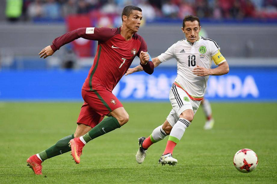 Les Lusitaniens de Ronaldo ont dégainé et les Aztèques de Guardado répliqué, en revenant à chaque fois au score.