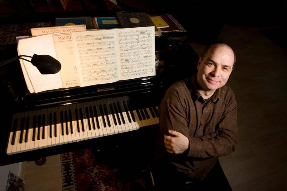 Le pianiste Philippe Cassard sera à Biot ce soir avec Natalie Dessay.