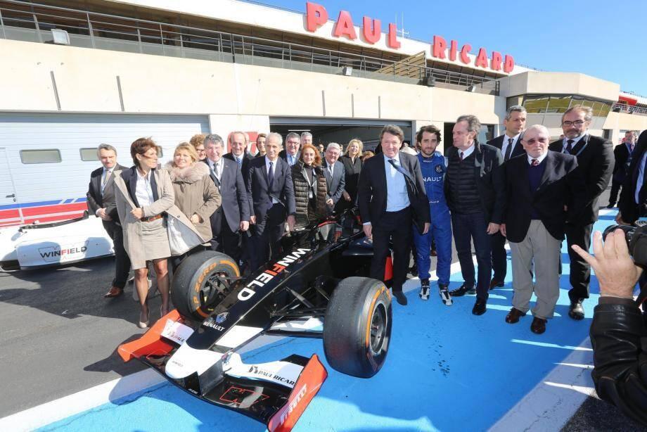 Le cap est fixé pour les artisans du retour du Grand Prix de France au circuit Paul-Ricard : rendez-vous le 24 juin 2018.