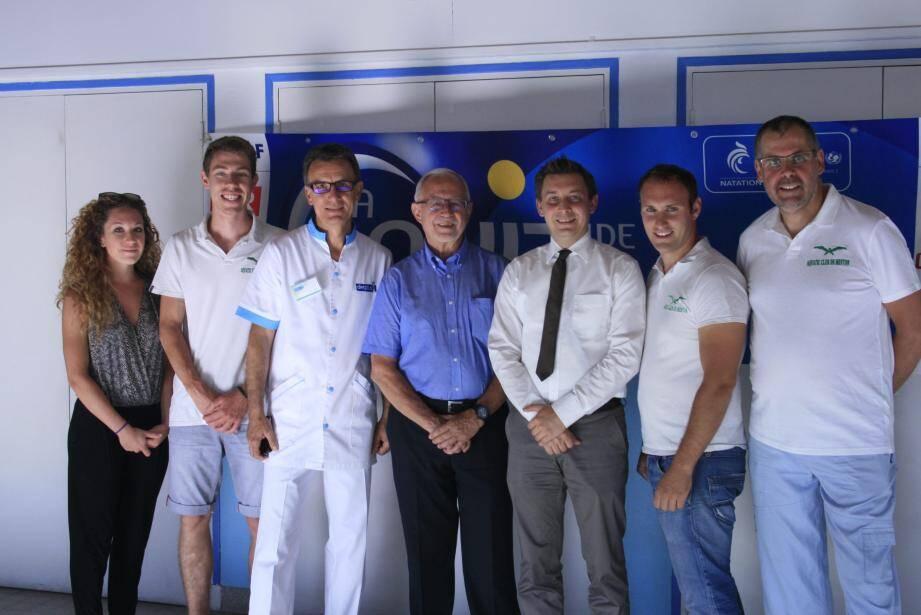 Avant-hier, les membres du bureau ont remis à l'Unicef la recette de la 10e édition de la « Nuit de l'eau ».