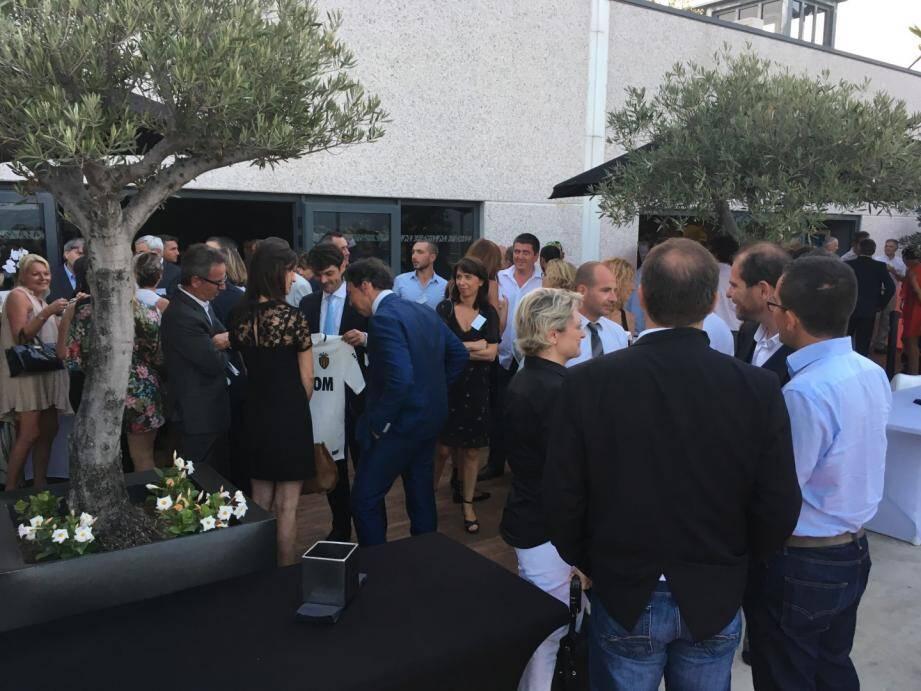 Une centaine de chefs d'entreprise était présente à la soirée « 6e sens » organisé par le Grasse business club.