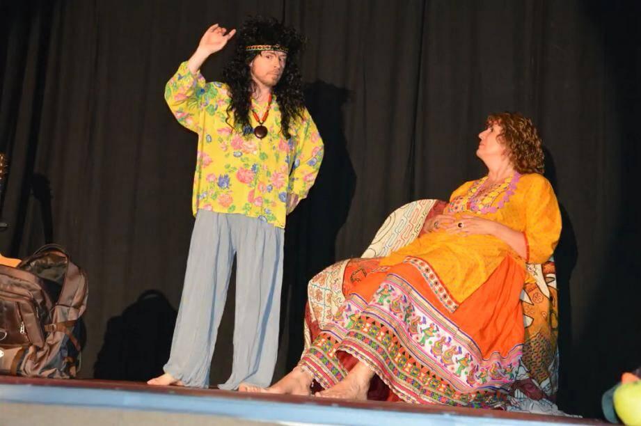 Les comédiens de la Lic lors du 19e festival d'improvisation Ben Jugat organisé à Nice les 3 et 4 juin derniers.(DR)