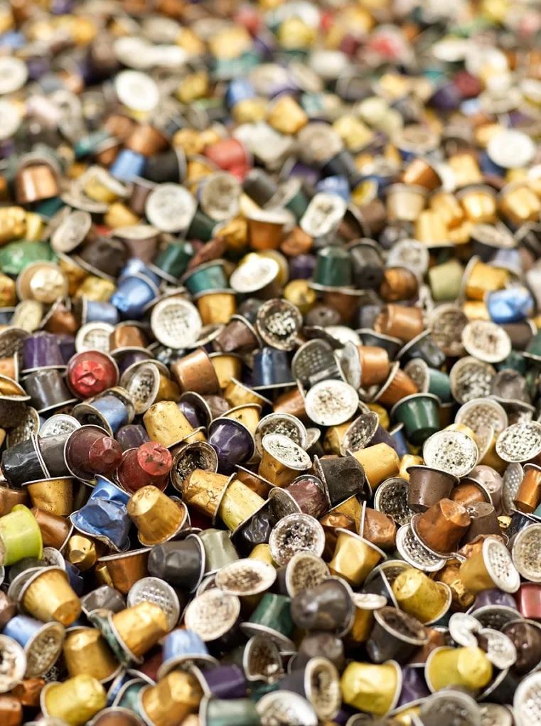 Dans les Alpes-Maritimes, 67 tonnes de capsules qui ont été recyclées l'an dernier.