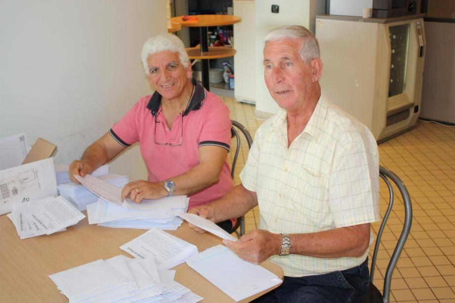 L'Union des retraités de Monaco a appelé à la mobilisation aujourd'hui devant les caisses sociales de la Principauté.