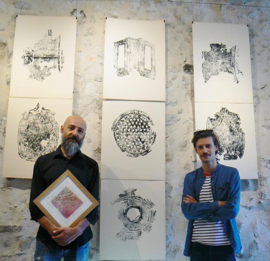 La vieille Forge expose Marco Facchetti et Mauro Campagnaro.