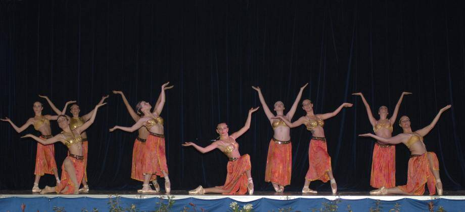 Deux heures de spectacle de danse toujours de qualité.(Archive Sy.C.)