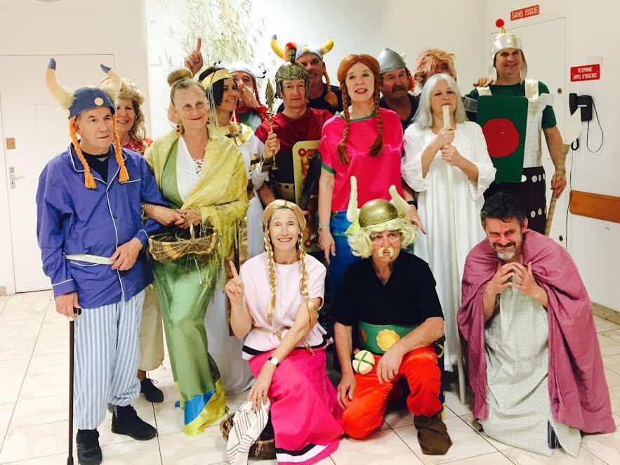 La Zizanie à partir d'Uderzo et Goscini, adaptée au théâtre par Luc Girerd, interprétée par une bande de comédiens déjantés, bien qu'amateurs. (DR)