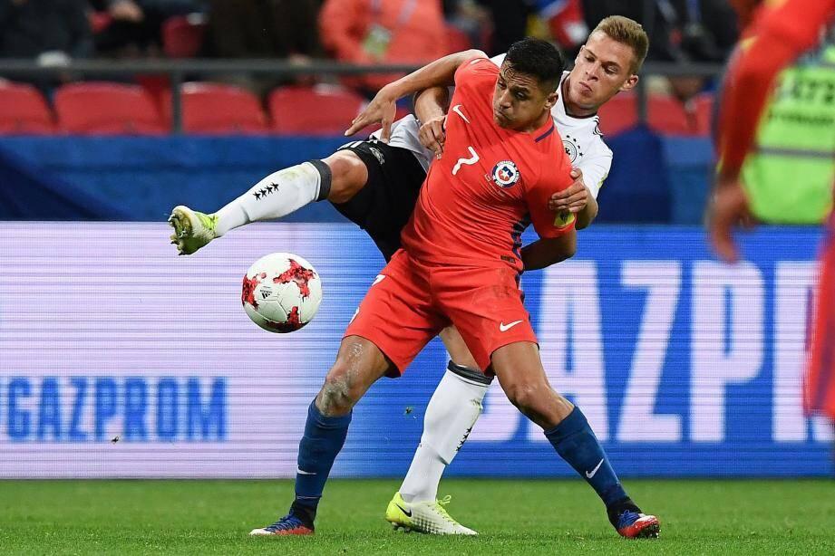 Alexis Sanchez a justifié son statut de star en ouvrant le score hier.