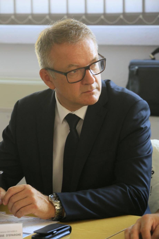 François Defarbus, Caisse d'Épargne Côte d'Azur.