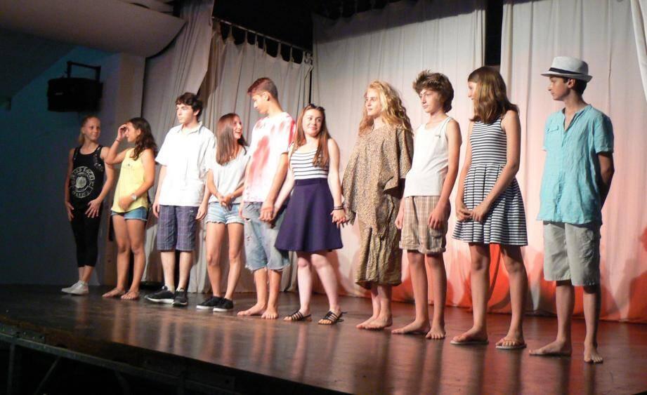 Des comédiens entre 14 et 16 ans, du talent et du cœur.