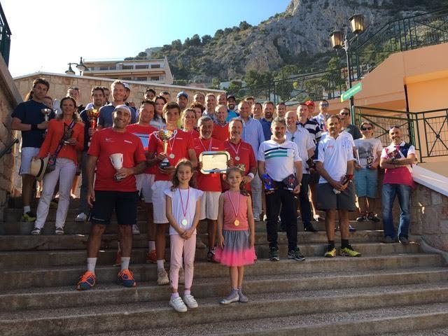 Le Monte Carlo Country Club (MCCC) a accueilli toutes les équipes des challenges interentreprises de tennis et padel 2017 organisés par le Tennis Padel Soleil. (DR)