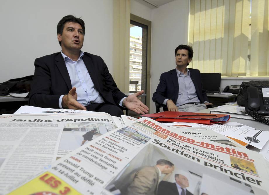 Lionel Abada, directeur général de Satri, et Marco Gandolfo, directeur général d'Engeco : « Nous sommes totalement disponibles pour la recherche des solutions techniques en vue d'une résolution rapide des problèmes. »
