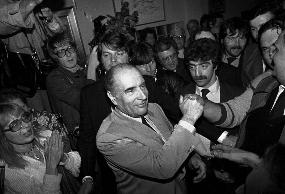 François Mitterrand en 1981.