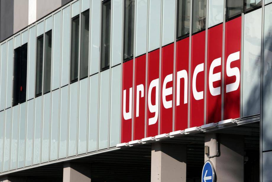 Les urgences de l'hôpital Pasteur 2, à Nice.