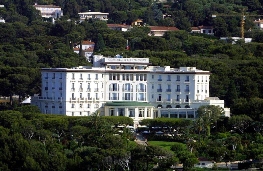 Le Grand hôtel du Cap Ferrat.