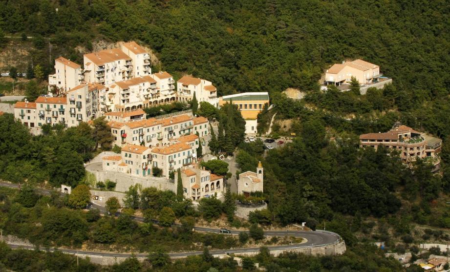 La village de Castillon