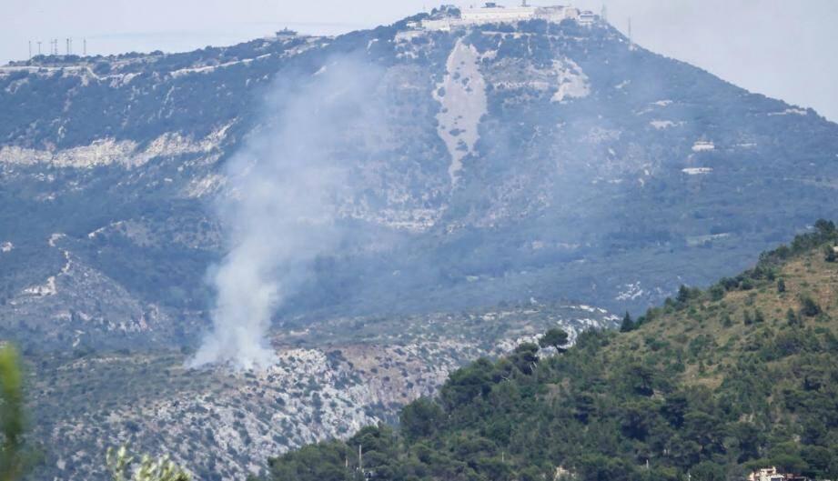 La fumée qui s'est étendue sur 200 m2 a été très vite maîtrisée.