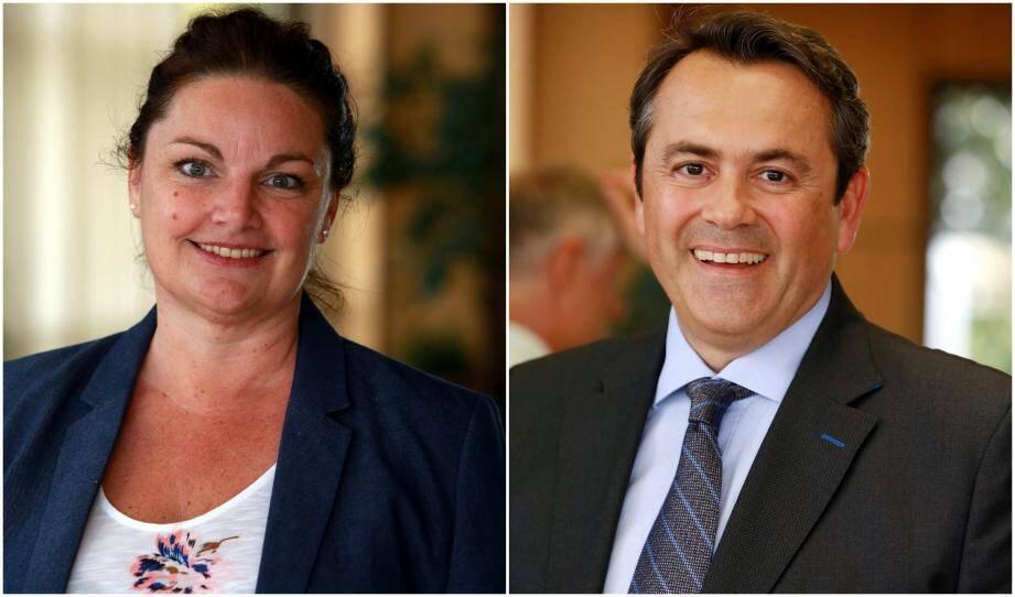 Alexandra Valetta-Ardisson et Olivier Bettati.