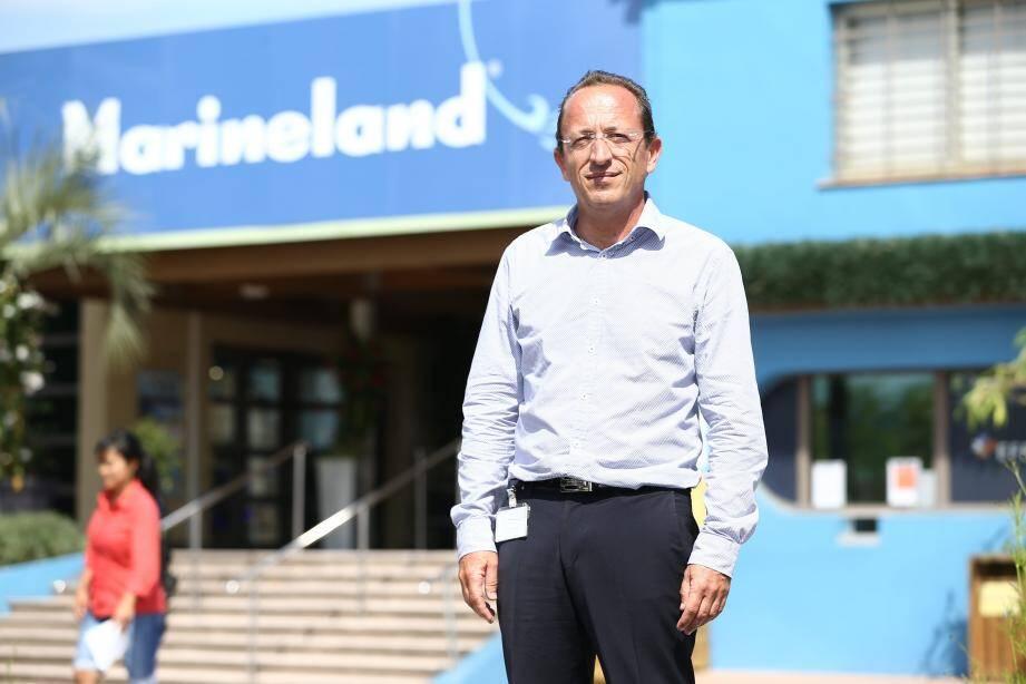 Pascal Picot, nouveau directeur général du parc Marineland d'Antibes.