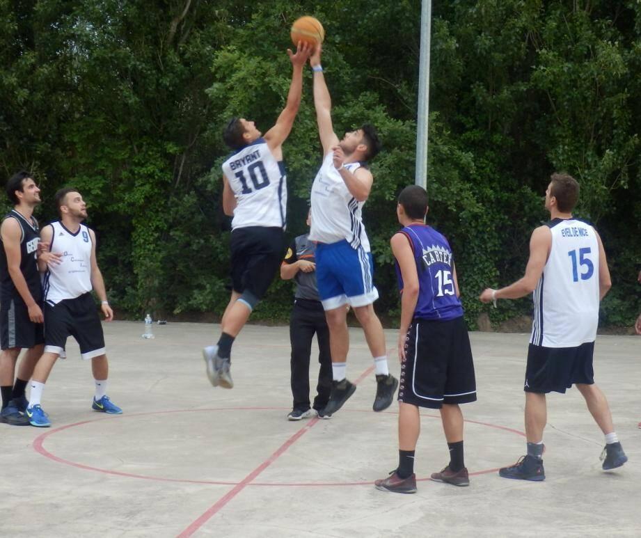 Le tournoi annuel du club de basket grimaudois a lieu ce week-end.