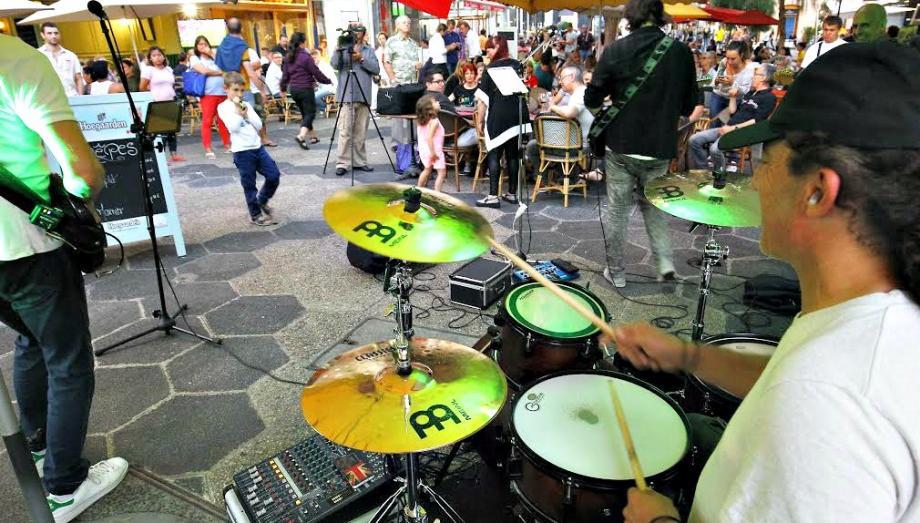La fête de la musique à Nice l'année dernière.