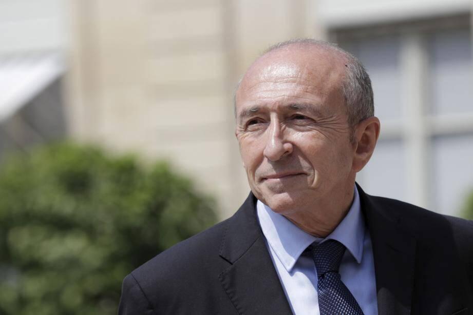 Gerard Collomb, ministre de l'Intérieur.