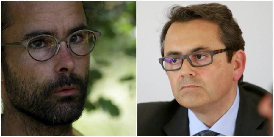 Cédric Herrou et Olivier Bettati