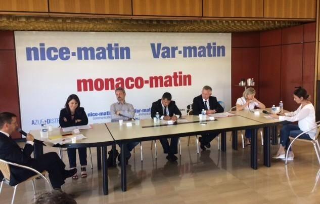 Le débat de la 5ème circonscription des Alpes-Maritimes.