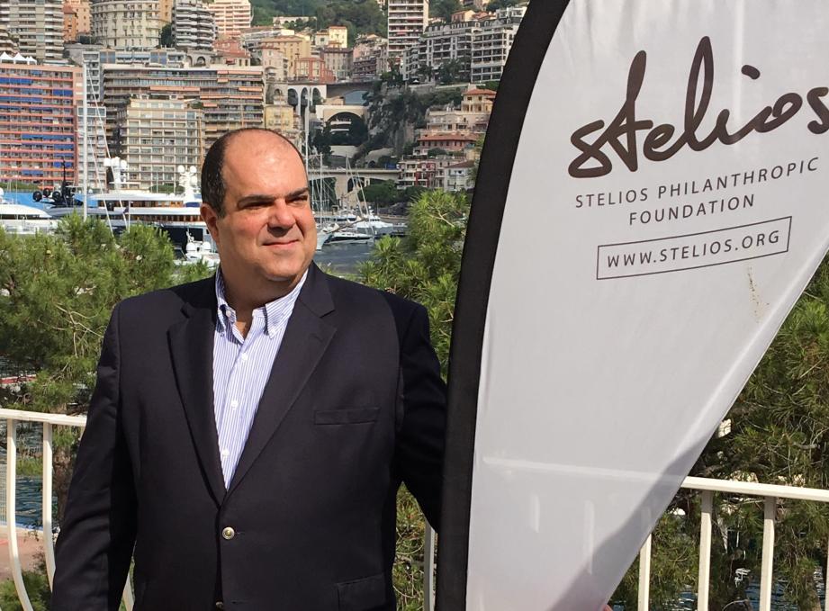 Sir Stelios Haji Ioannou, créateur de la compagnie aérienne EasyJet.