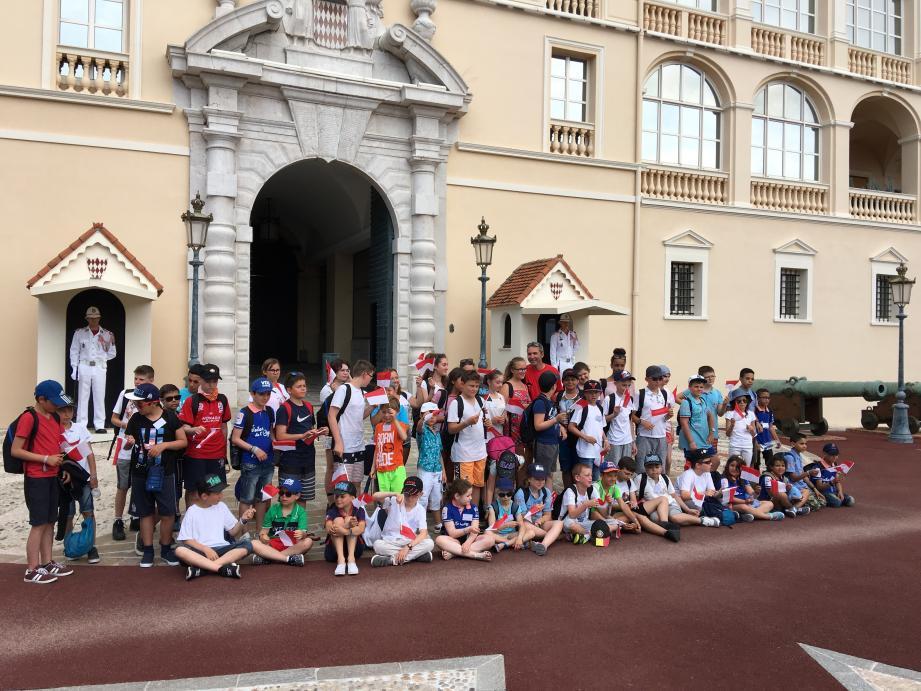 Une centaine d'enfants prennent part au voyage