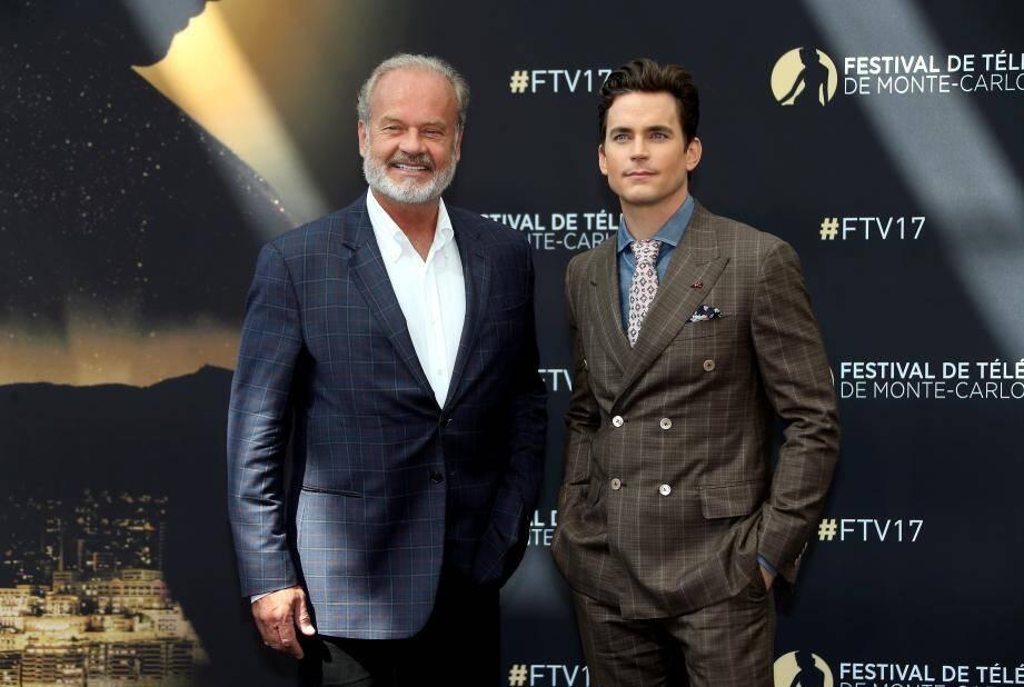 Bomer Matthew et Grammer Kelsey  au Festival Télé Monte Carlo 2017