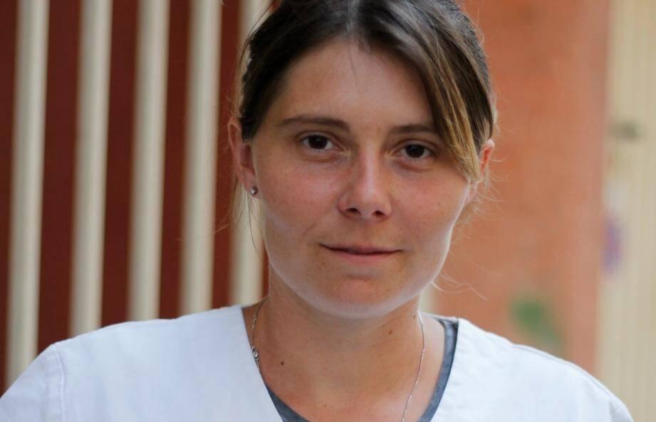 Aurélie Caranta, dentiste à Sainte-Maxime.