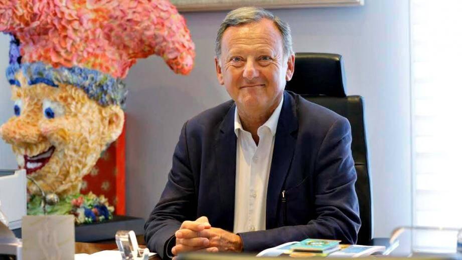 Rudy Salles est adjoint au tourisme et aux relations internationales de la ville de Nice.