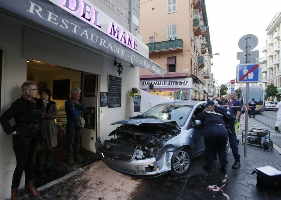 L'accident, violent, avait fait plusieurs blessés.